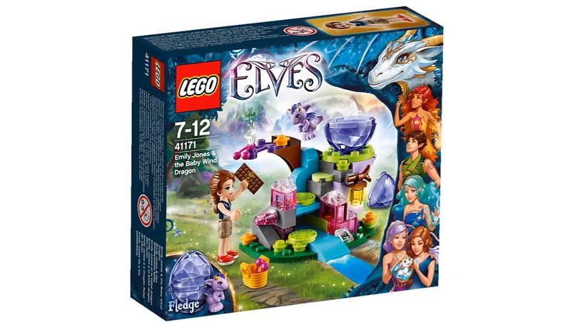 LEGO Elves 2016   41171 - Emily Jones & the Baby Wind Dragon