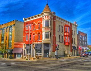 Janesville Wisconsin  ~ London Pub Regency Hotel ~ North Main Street  Historic District