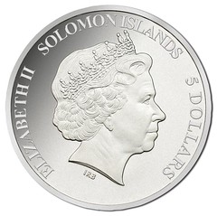 2015 Solomon Islands Pizza coin obverse