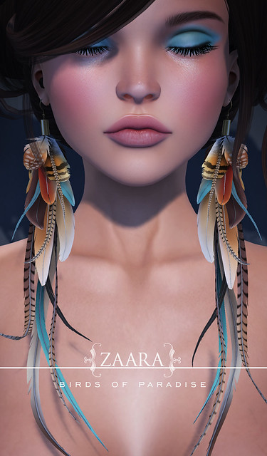 Zaara : Birds of Paradise for C88
