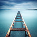 Rusty Pier by Eric Rousset