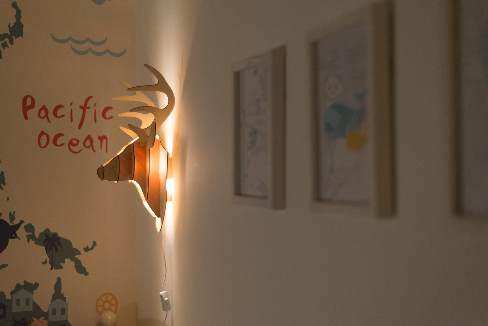 Iconic lights stag head light review maybush studio details vintage stags head wall light from iconic lights mozeypictures Gallery