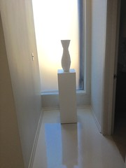 White Laminate Pedestals
