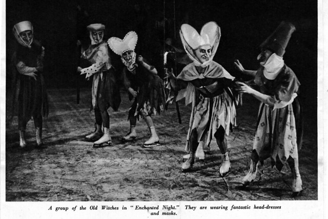 Enchanted Night as part of Rhapsody on Ice, 1937, at the Royal Opera House, Covent Garden © ROH