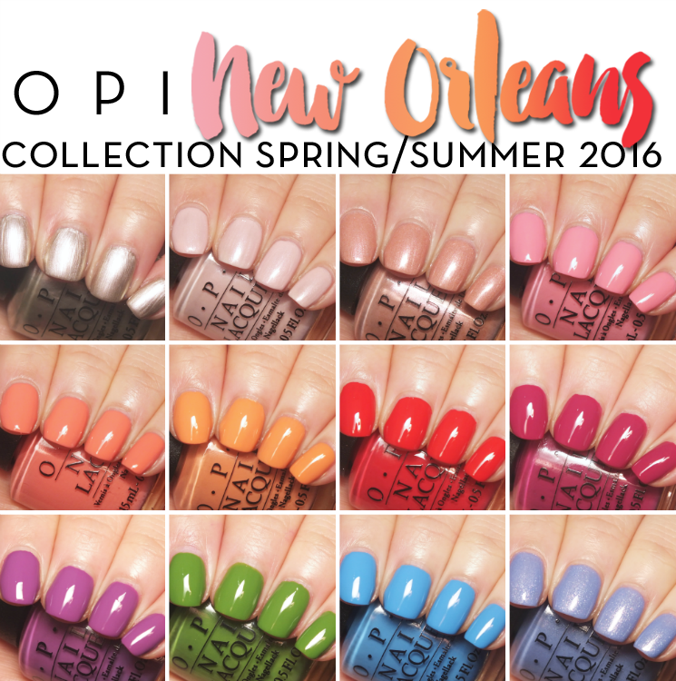 OPI New Orleans swatches blog pin