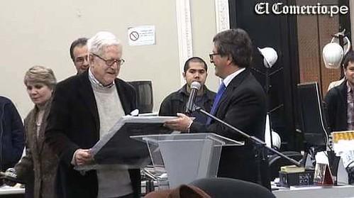 El Comercio rindió homenaje a divulgador científico Tomás Unger