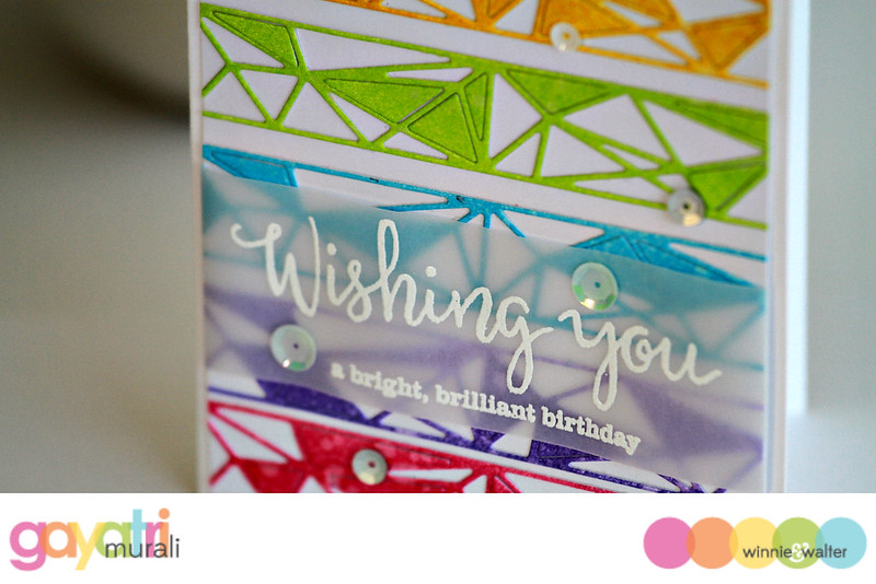 Wishing you card closeup #1