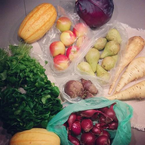 Boodschappen ✔ Verser kan bijna niet, recht van het veld! 💞 #buurderij #boeren&buren #boerenenburen