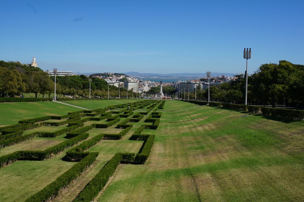 Parque Eduardo VII Lisbon