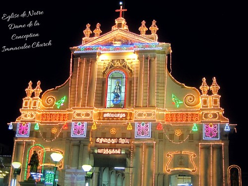 Notre Dame Church, Pondicherry