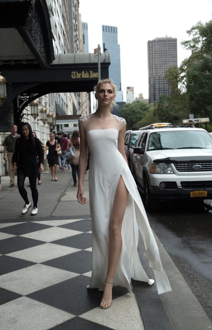 Inbal Dror 2016 Wedding Dresses - shealth wedding dress | itakeyou.co.uk