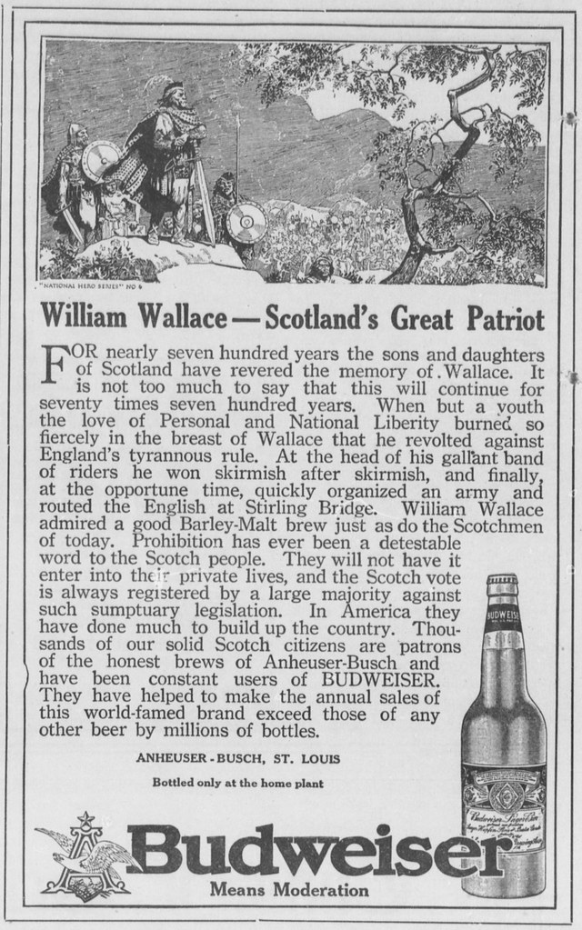 Bud-national-heroes-1914-William-Wallace