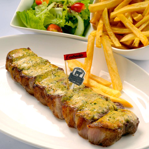Certified US Angus Striploin Steak 12oz