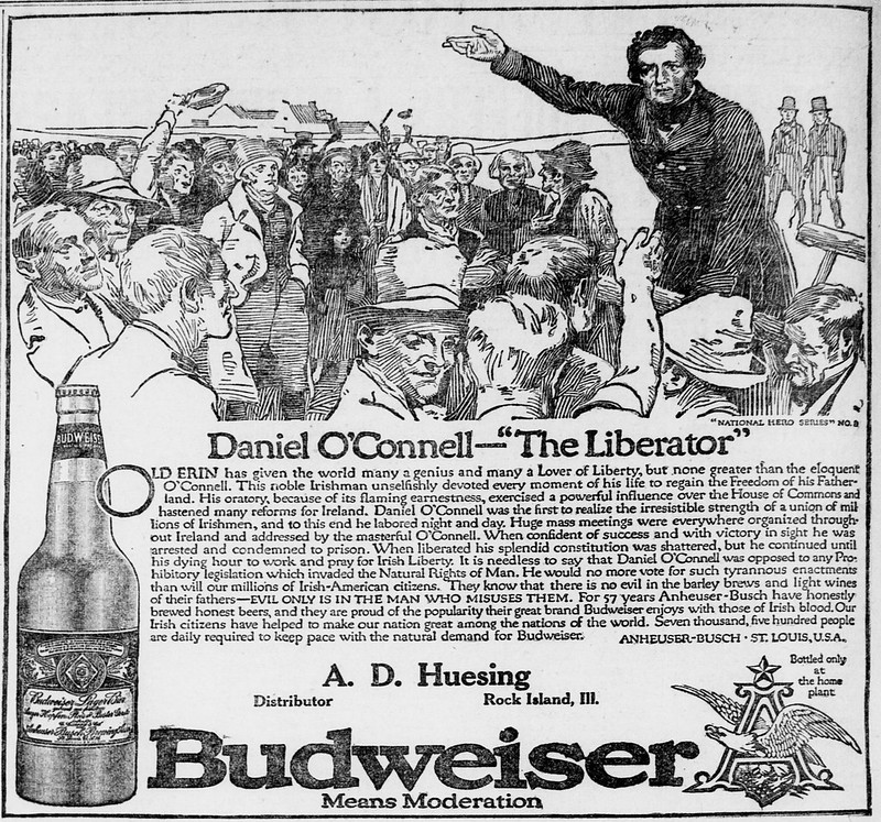 Bud-national-heroes-1914-Daniel-O'Connell