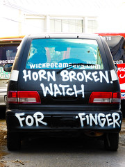 Horn Broken Watch For Finger