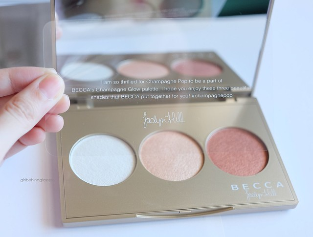 Becca Champagne Glow palette3