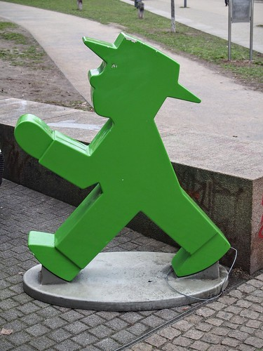 Green man, East Berlin