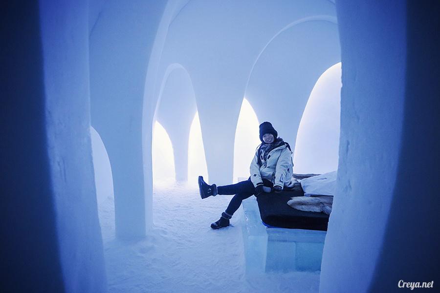 2016.02.25 ▐ 看我歐行腿 ▐ 美到搶著入冰宮,躺在用冰打造的瑞典北極圈 ICE HOTEL 裡 20.jpg