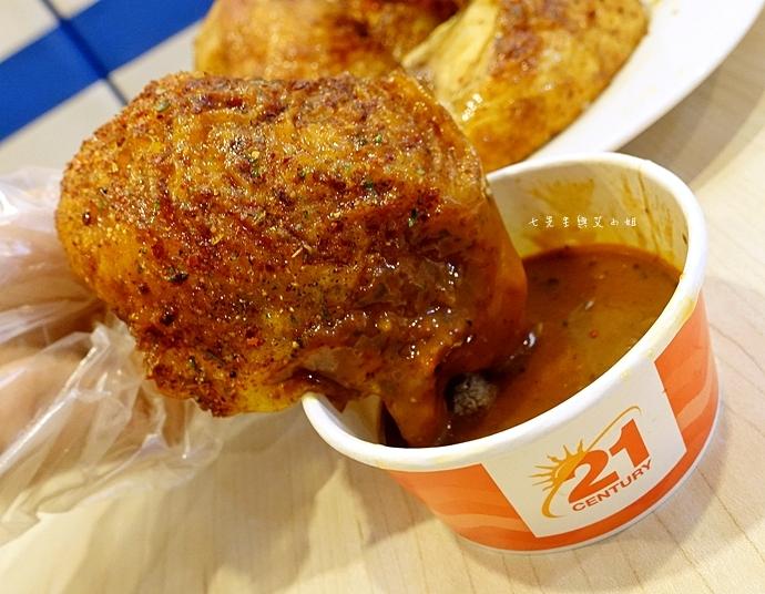 12 21世紀風味館 醬辣雞翅 碳香雞翅 醬辣烤半雞 香草烤半雞