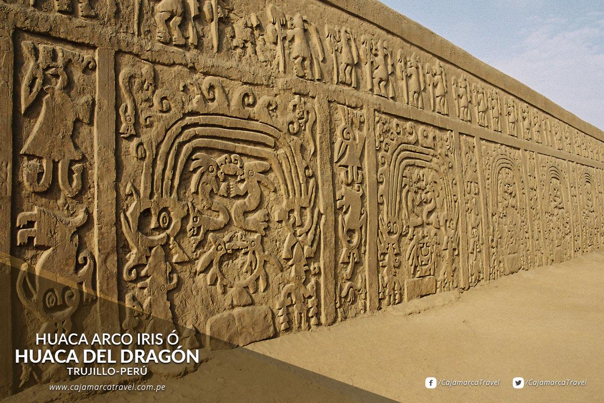Esta pirámide de adobe se ubica en el distrito de La Esperanza-Trujillo.