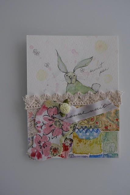 Watercolour bunny