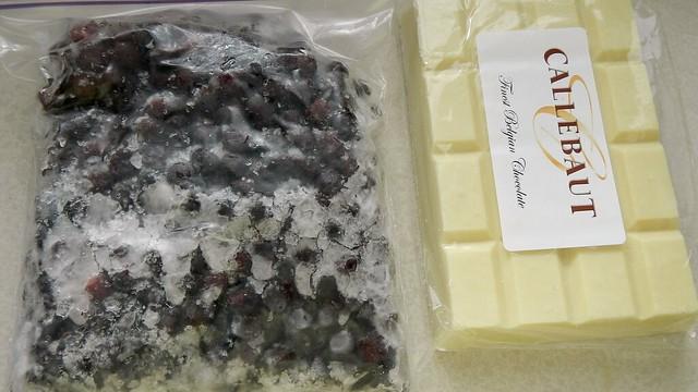 Berry White Chocolate Scones 1