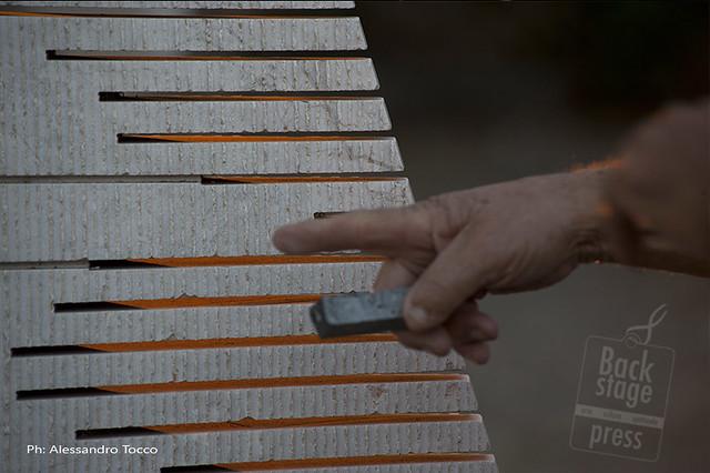 Pietre Sonore di Pinuccio Sciola - Aprile 2012