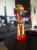 Carls ombygning af LEGO City-flyver