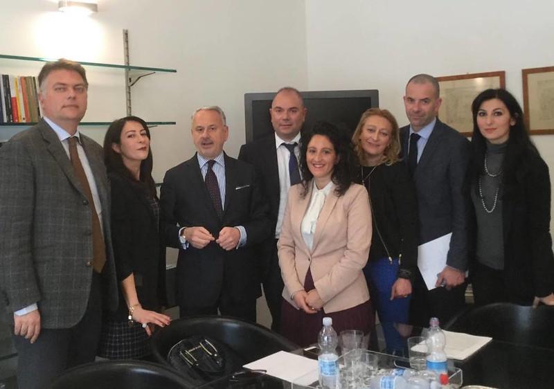 AIGA incontra Presidente Vietti 16 marzo 2016