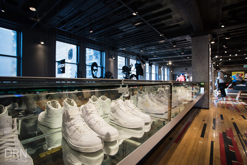 Niketown, San Francisco.