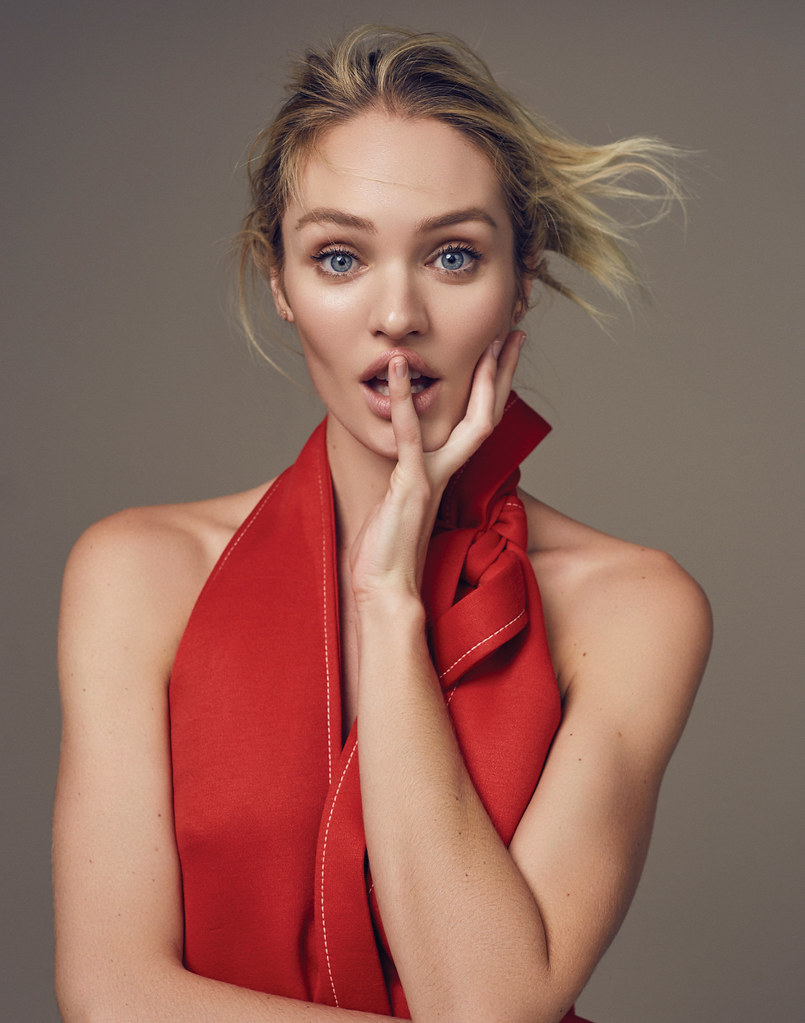 Кэндис Свейнпол — Фотосессия для «Elle» CH 2016 – 4