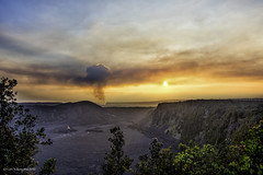 HALEMAUMAU CRATER (BIG ISLAND)