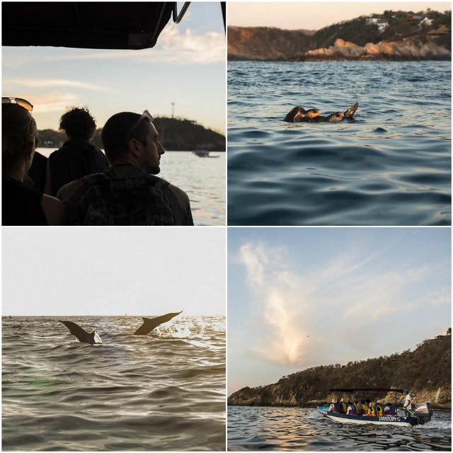 Playa Zipolite Boat Ride