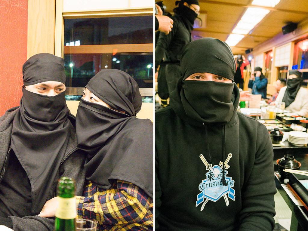Ninja Themed Cruise in Tokyo