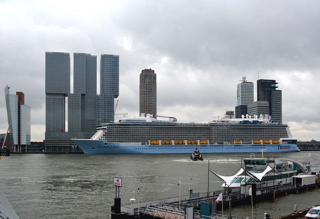 Ovation of the Seas cruiseport Rotterdam