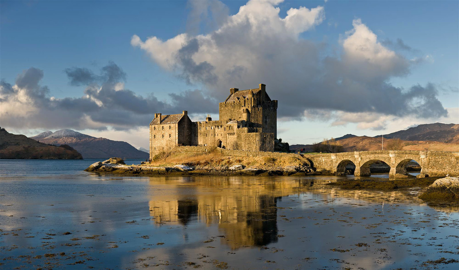 Eilean Donan Castle. Credit David Iliff