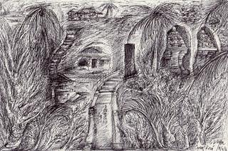 I Wayan Gede Kesuma Dana, 29 x 41,5 cm, Pen on Paper, 2016