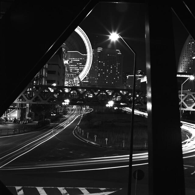 Light crossing.