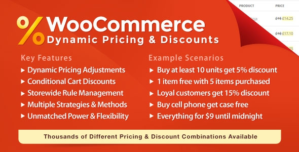 WooCommerce Dynamic Pricing & Discounts v1.1