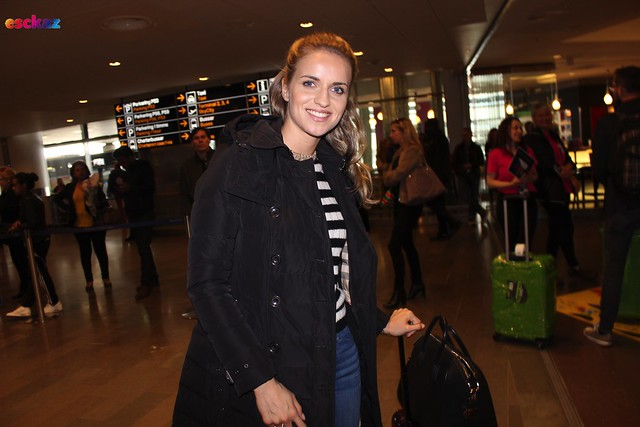 Czech Republic arrival at Arlanda
