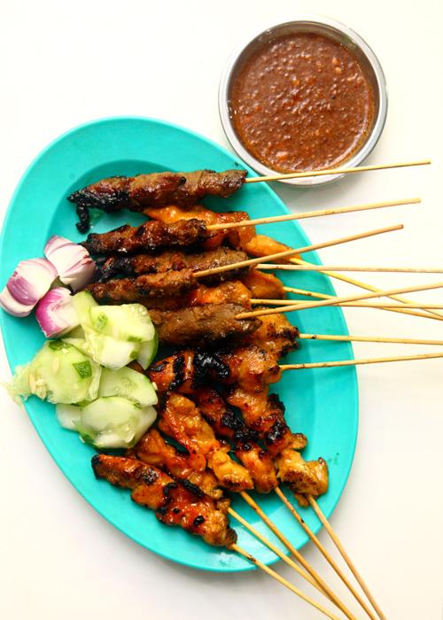 Sate Atok Chicken Beef Satay