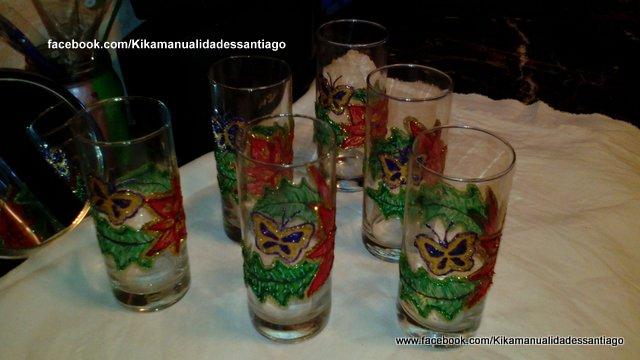 Kika Manualidades pintura en cristal