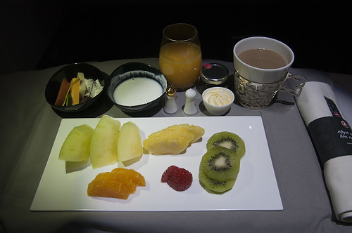 Desayuno Business Class TK