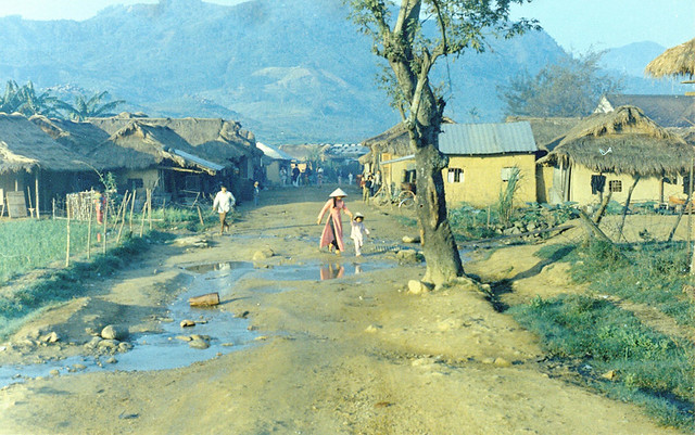 QUANG NGAI 1970 - Tra Bong village - by vnvetlester - Photo by vnvetlester