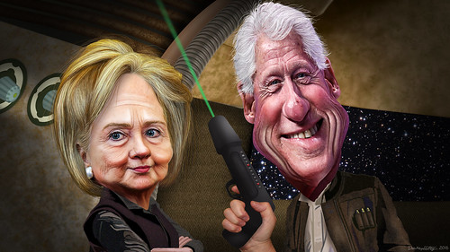 Bill & Hillary Clinton - The Force Awakens