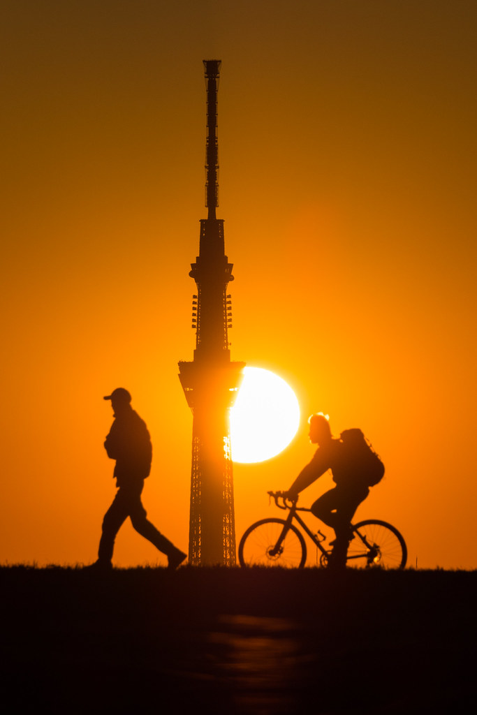 20160117_03_Sunset and Tokyo Sky Tree
