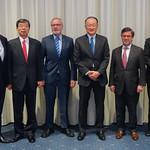 President Nakao joins heads of MDBs retreat in Switzerland