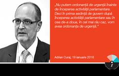 """Adrian Curaj: """"Nu putem ordonanță de urgență înainte de începerea activității parlamentare."""""""