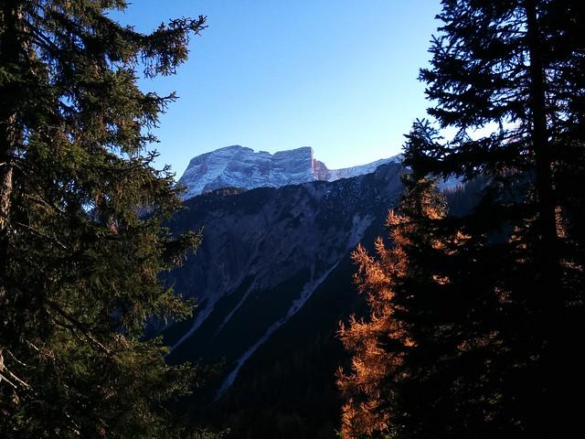 Ausblick von der Kühwiesenhütte