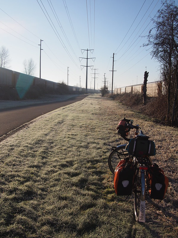 Toasty Tangerine on the Interurban Trail